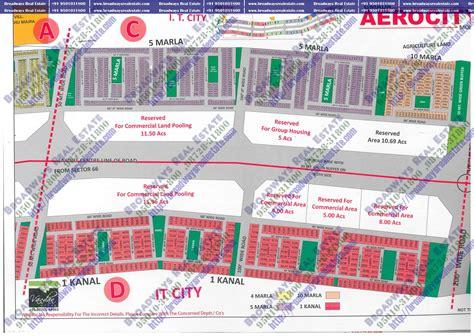 Layout Plan Of Mohali | gmada aerocity site layout gmada aerocity plots mohali