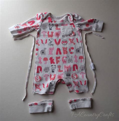 Baby Sleeper Patterns by Baby Clothes Memory Pattern And Tutorial Pa Country Crafts