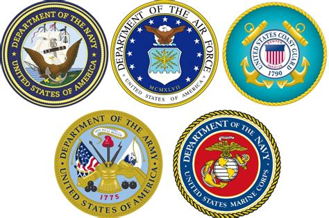 Military Armed Forces Logo | military logos combo u s stripes