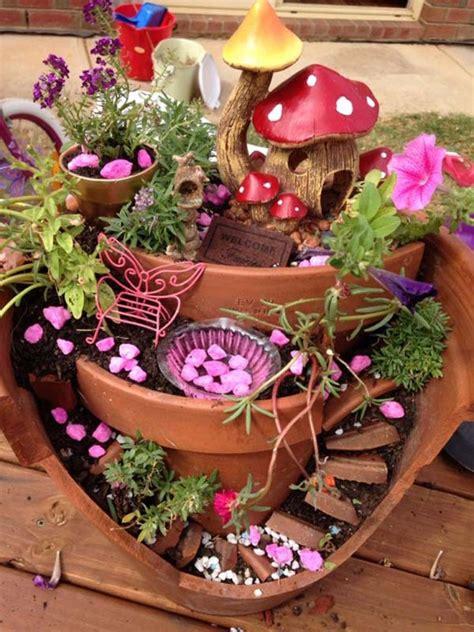 garden in pots ideas stunning ideas to build a tale garden in a broken