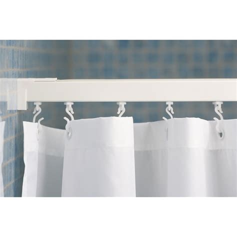 straight shower curtain rail croydex straight straight shower curtain rail aluminium