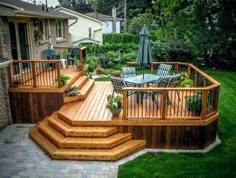 diy backyard deck ideas creative patio outdoor bar ideas