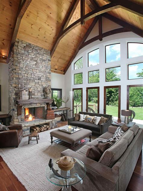 decoration modern rustic cabin decor with barn modern modern rustic cabin interior nice living room of the