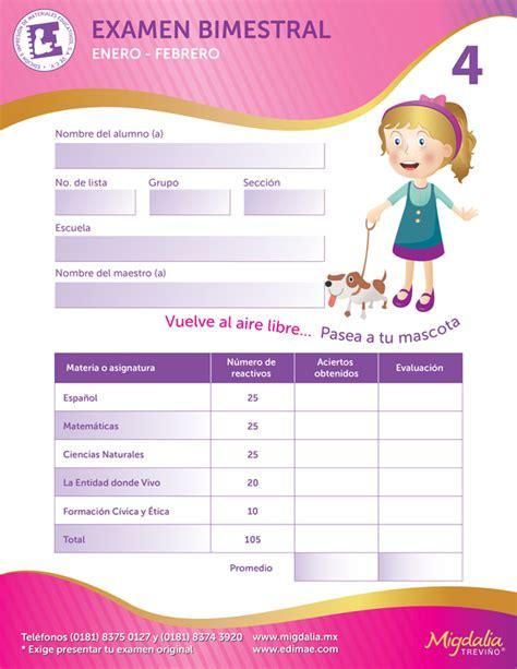 examen bimestral sexto grado apexwallpaperscom evaluaciones bimestrales cuadernillo de evaluaci 243 n bimestral
