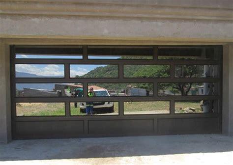 glass garage glass garage doors garage door installation automation