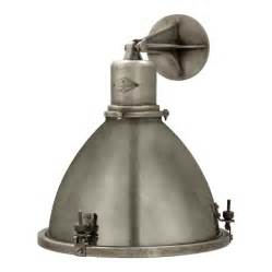 Sconce Backplate Fulton Large Sconce In Industrial Steel Wall Lamps