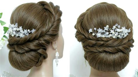 Wedding Hairstyles For Hair Tutorial by Wedding Hairstyle For Hair Tutorial Bridal Updo