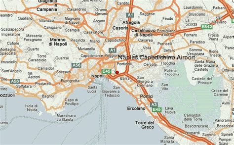 naples italy map naples international airport location guide
