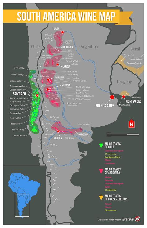 usa maps and regions south america wine regions map south america wine and