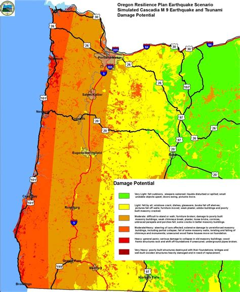 map of oregon zones the challenges of seismic mitigation in oregon where