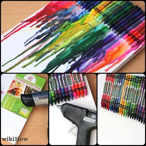diy crayon crafts how to make melted crayon