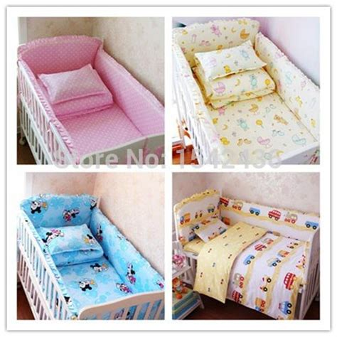 Wholesale Crib Bedding Wholesale 5 Baby Crib Bedding Set Cot Bedding Sets Baby Bed Set Bedding Bumpers Fitted Sheet
