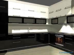 Ma e projekty kuchni kuchnia zjednym oknem barek fototapeta na