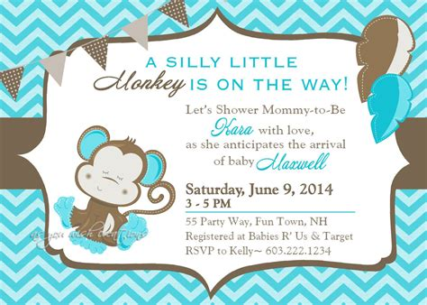 Baby Boy Shower Templates Invitations by Baby Shower Invitation Templates Baby Shower Invitation