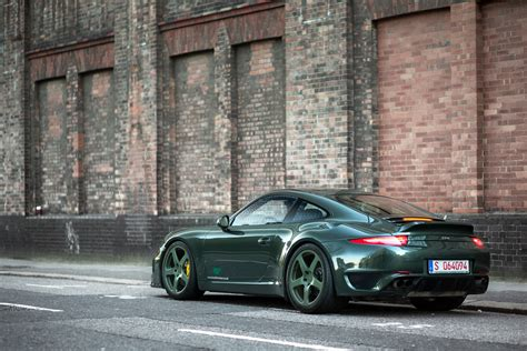 porsche dark green dark green ruf rt35 madwhips