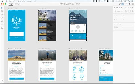 layout login devise review of adobe xd comet why you should try new ux tool