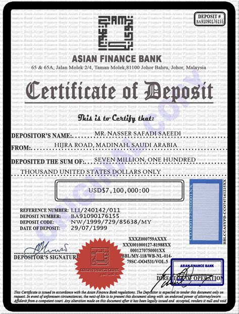 bank certificate bank certificate pictures to pin on pinsdaddy