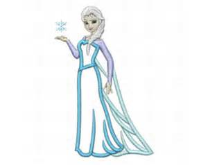 elsa machine embroidery designs elsa embroidery design etsy