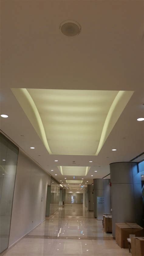 Stretched Ceiling System by Translucent Stretch Ceiling Systems Dubai Greenacustica