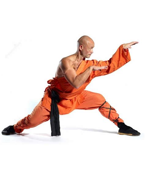 Teh Orang Kung orange shaolin robes worn by the shaolin temple monks in china enso martial arts shop bristol