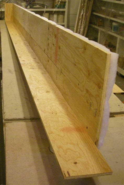Joining Cornice edge joining plywood to make a cornice board strong cornice boards plywood and window