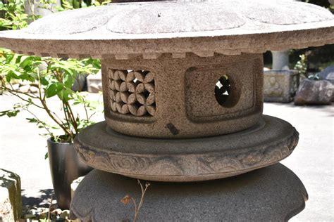 Patio Lanterns For Sale by Japanese Granite Snow Lantern Edo Arts