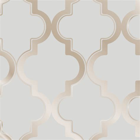 Mahogany Dining Room Tables Marrakesh Self Adhesive Wallpaper In Bronze Grey Design By
