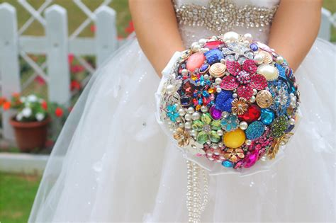 Handmade Wedding Bouquet Ideas - wedding accessories ideas