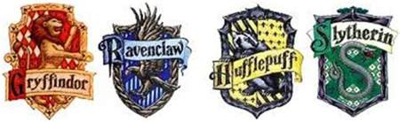four houses of hogwarts harry potter fellowship of the minds