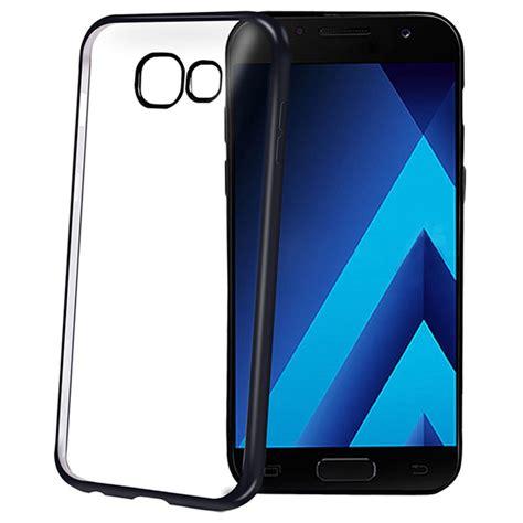 Fs Soft Metalic Samsung Galaxy A3 2017 Back Cover Softshell samsung galaxy a3 2017 celly laser cover black