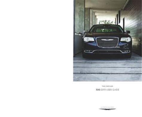 car manuals free online 1999 chrysler 300 user handbook download 2015 chrysler 300 user guide pdf manual 180 pages