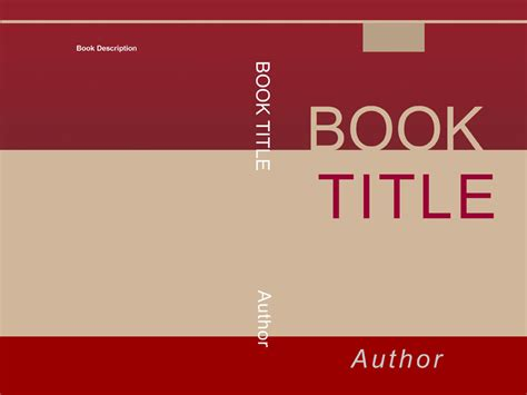 Book Distribution Cover Choices Free Book Cover Templates