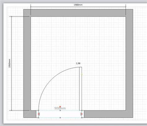 Raumplan Erstellen visio t 252 r oder fenster in eine wand einziehen