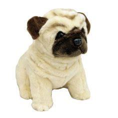 black pug soft black pug sitting soft plush oreo bocchetta plush dogs plush