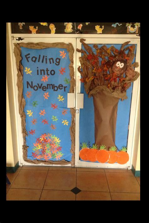 Preschool Door Decorations For Fall by Fall Door At Preschool Preschool Vpk Ideas