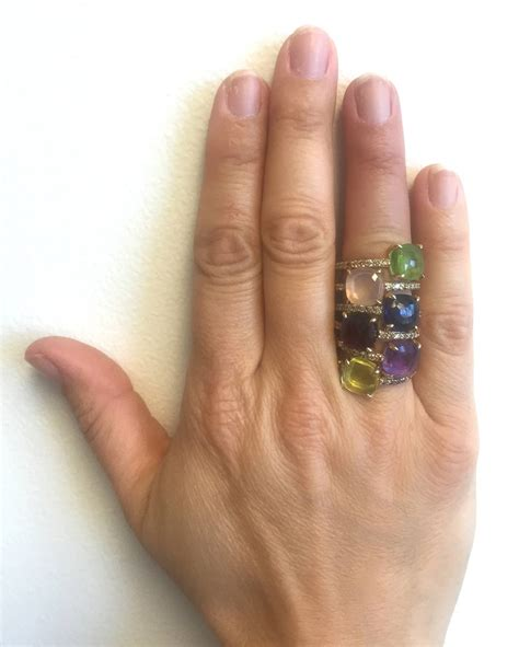 pomellato baby pomellato baby iolite gold ring at 1stdibs