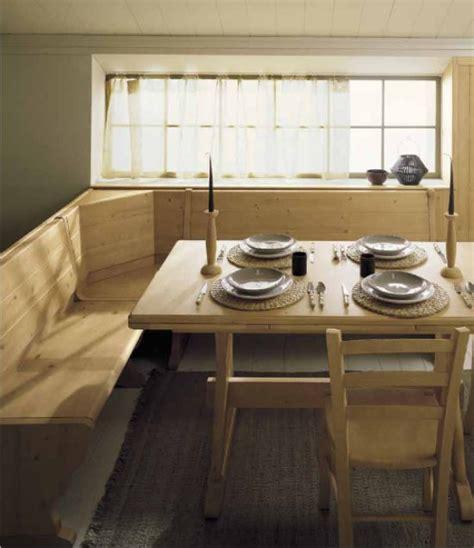 tavolo con panca ad angolo moderno cucine ad angolo in stile country