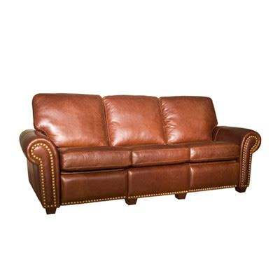 saddle leather reclining sofa sofas and couches wayfair buy loveseats and leather