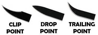 drop point vs clip point finding the best knife bestpocketknifetoday