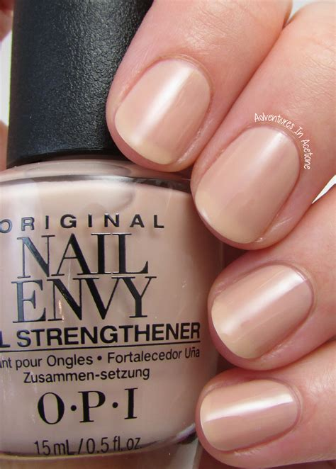 Manicure Opi opi nail envy strengthener review nail ftempo