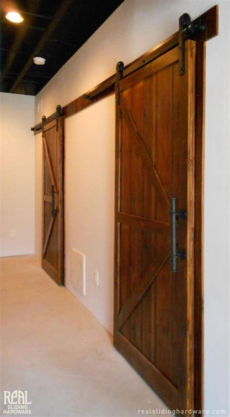 Real Sliding Barn Doors 37 Best Barn Door Images On Barn Doors Home Ideas And Sliding Doors