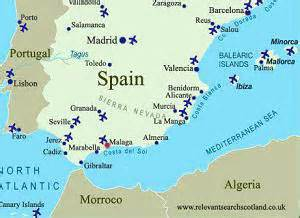 Malaga Spain Map by Gallery For Gt Malaga Spain Map