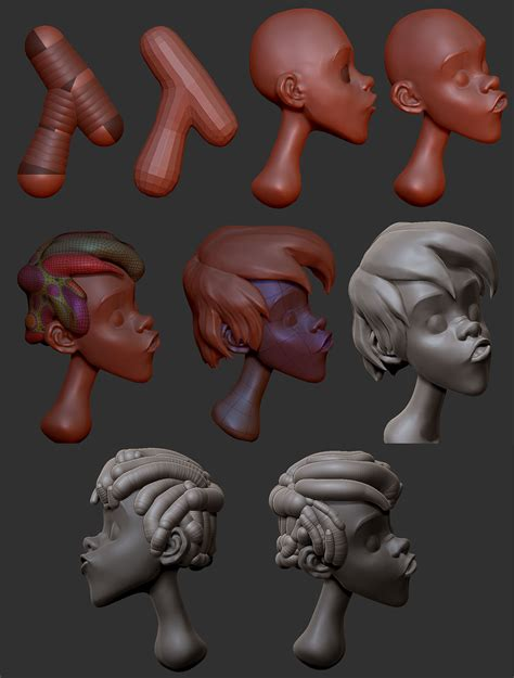 zbrush tutorials characters made easy cartoon 171 3d models 171 tiflos angel diaz