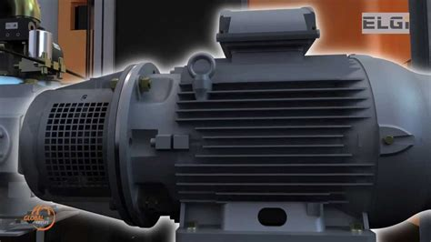 how a rotary air compressor works