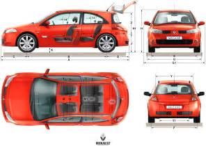 Renault Megane 2 Dimensions 2004 Renault Megane Ii Pictures Information And Specs