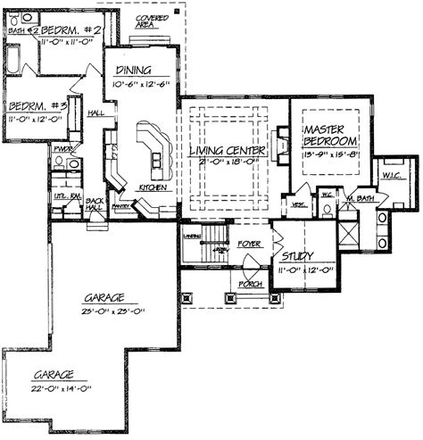 ranch homes floor plans open floor plan ranch style homes 100 images house plans