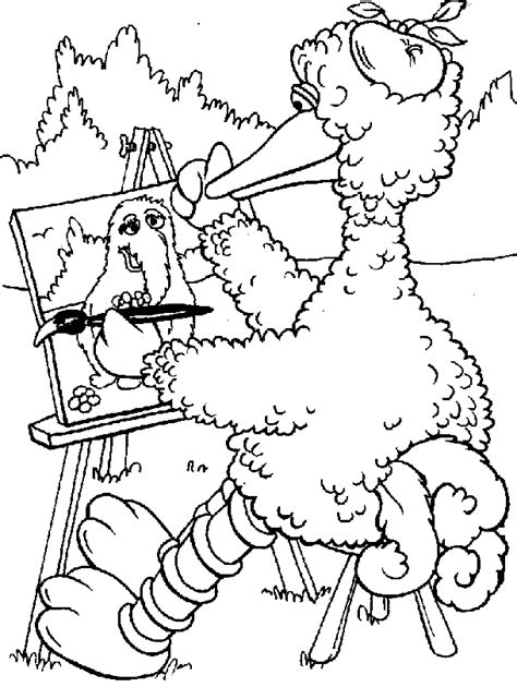 Printable Pictures Of Sesame Street Characters Coloring Home Coloring Pages Of Sesame Characters