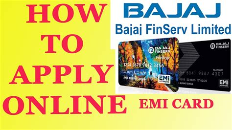 how to apply for bajaj finserv emi card how to apply for bajaj finserv card how to apply