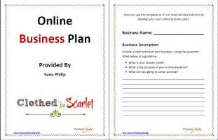 Business Plan Template by Day 5 Business Plan Template Free