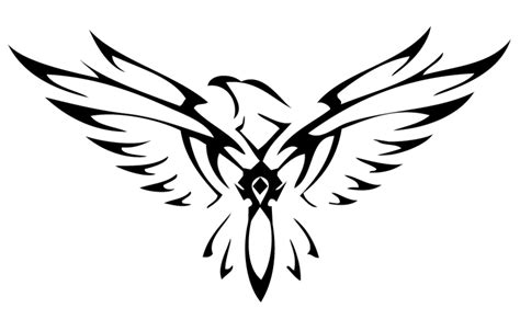 eagle layout wikipedia image tribal horde falcon by xxtheansweris7xx d4qi7q3